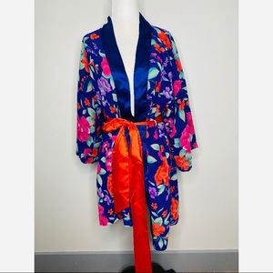 Victoria's Secret Vintage Gold Label Robe Kimono